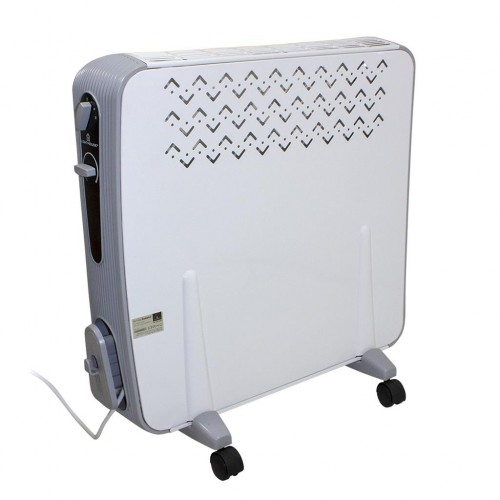 Lighthouse 2500w Oil Free Radiator Side View