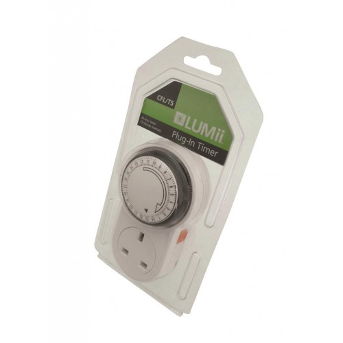 Lumii Standard 24hr Manual Timer