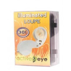 Active Eye Illuminated Magnifier 30x