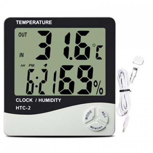 Twin Probe Digital Thermo-Hygrometer