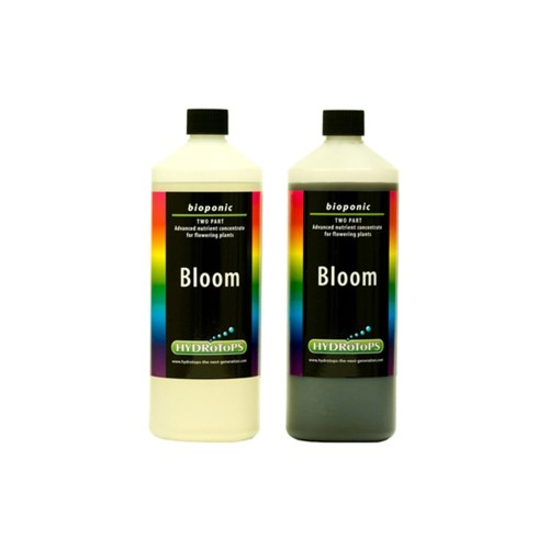 HydroTops Bioponic Hydro Bloom A&B Soft Water