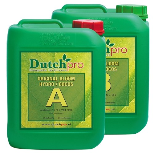 Dutch Pro Hydro/Coco Bloom A&B Soft Water
