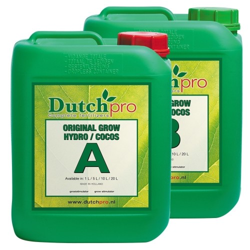 Dutch Pro Hydro/Coco Grow A&B Soft Water