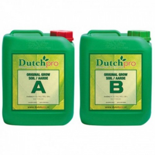 Dutch Pro Soil Grow A&B Soft Water