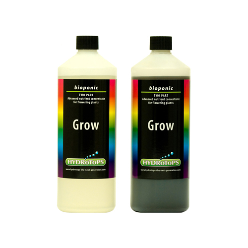 HydroTops Bioponic Coco Grow A&B Soft Water