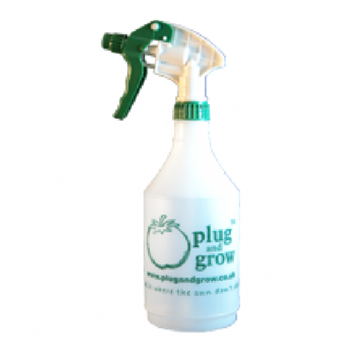 Plug and Grow Trigger Sprayer Bottle 1L