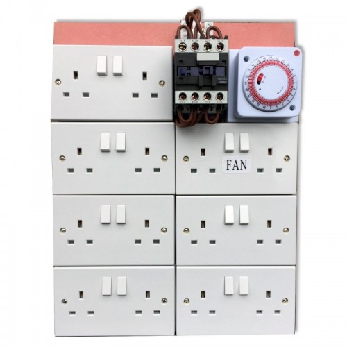 MDF Contactor/Relay Timer Boards
