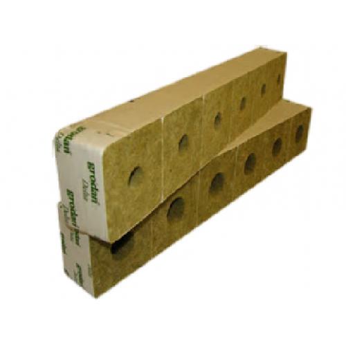 4 Inch Rockwool Cubes
