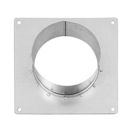 Square Duct To Wall Flange (Spigot)