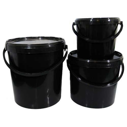 Black Buckets With Lids