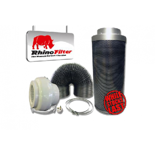 Rhino Pro Extraction Kits (Aluminium Ducting)