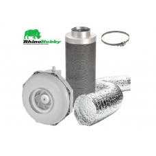 Rhino Hobby Extraction Kits (Aluminium Ducting)