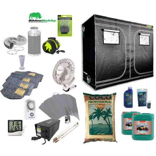 Canna Coco 240cm Wide Grow Tent Kit  Group