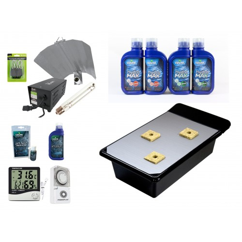 NFT GT 205 Hydroponics Starter Kit Group