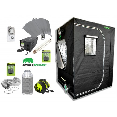 Matrix 1.2m Hobby Starter Grow Tent Kit Group