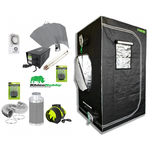 Matrix 1.0m Hobby Starter Grow Tent Kit Group