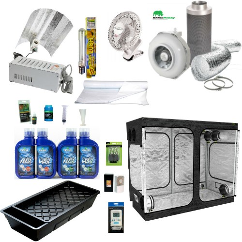 NFT 240w Starter Grow Tent Kit  sc 1 st  Grow World Hydroponics : grow tent kit - memphite.com