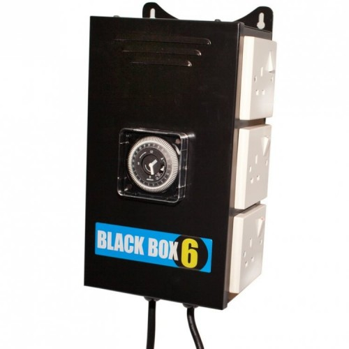 Black Box 6 Way Contactor/Relay With Timer