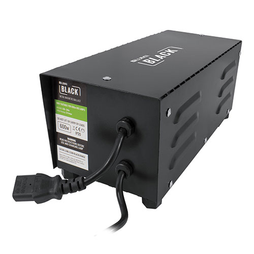 Lumii Black 600w Magnetic Metal Ballast
