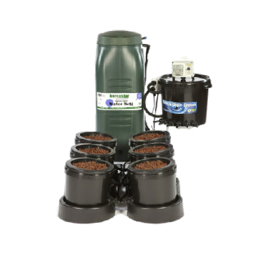 IWS 6 Pot Flood & Drain System