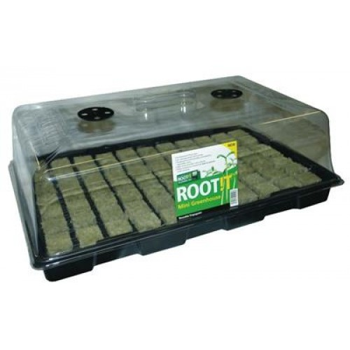 Rootit Propagator with 77 Rockwool Tray