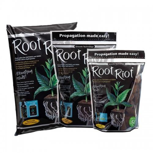 Root Riot Propagation Cubes