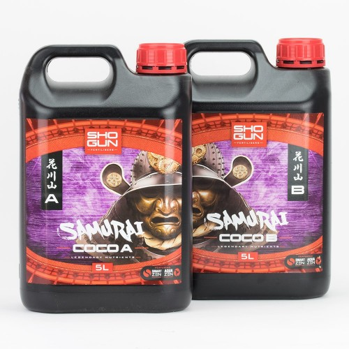 Shogun Samurai Coco A&B 5 Litre Bottle