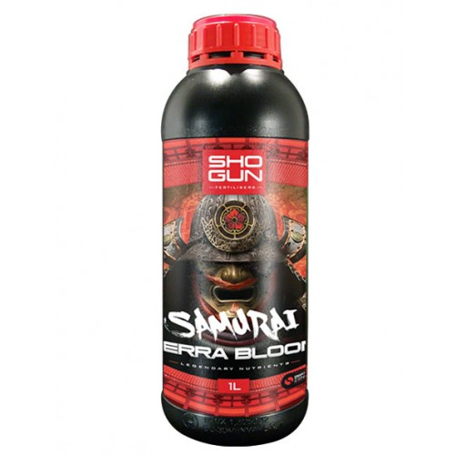 Shogun Samurai Terra Bloom 1 Litre Bottle