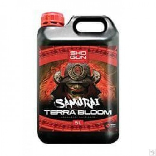Shogun Samurai Terra Bloom 5 Litre Bottle
