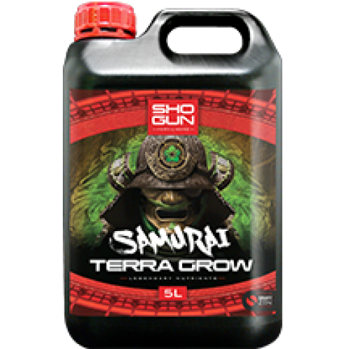Shogun Samurai Terra Grow 5 Litre Bottle