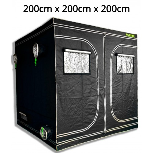 Matrix 2.0m x 2.0m x 2.0m Grow Tent