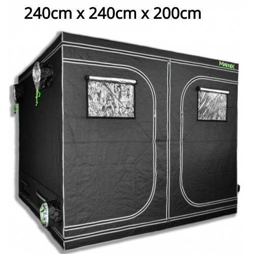 Matrix 2.4m x 2.4m x 2.0m Grow Tent