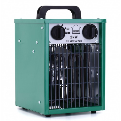Lighthouse 2kw Greenhouse Heater Unboxed