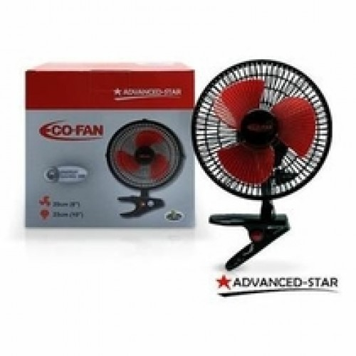 Advanced Star 8 Inch Clip on Fan