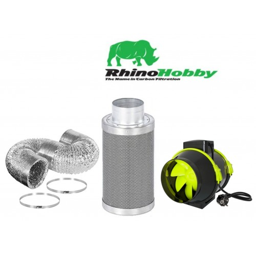 5 Inch Rhino Hobby Filter TT Max Fan And Ducting Kit